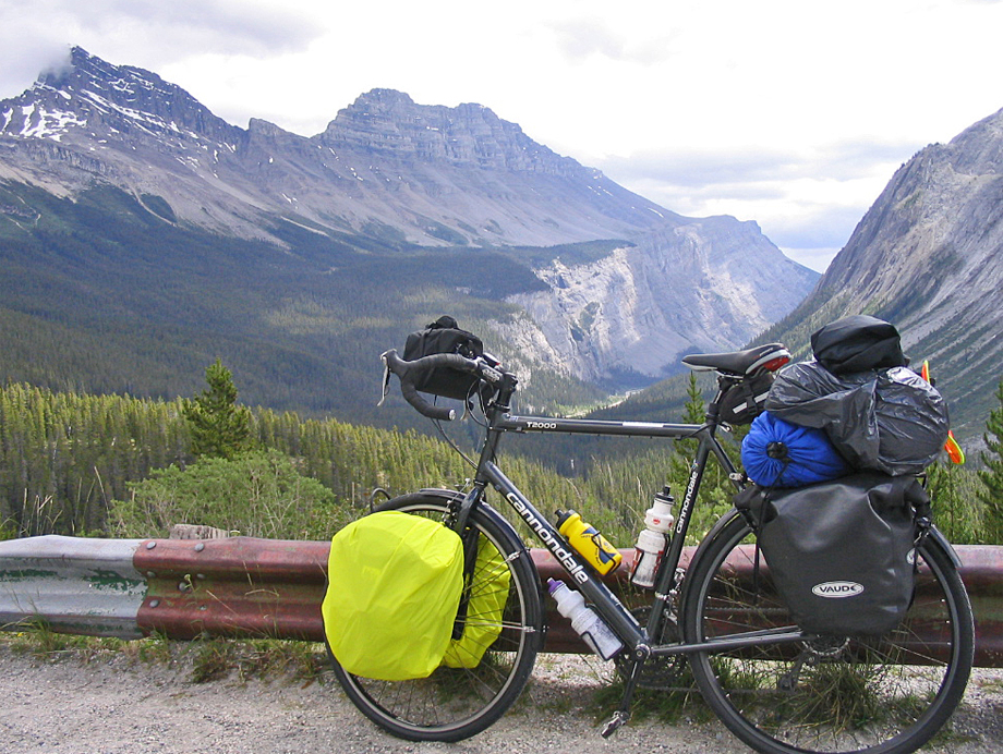 042  Stephen - Touring Alberta - Cannondale T2000 touring bike