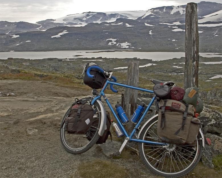 044  Andrew - Touring Norway - Orbit Routier touring bike