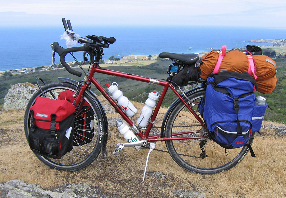 062  Geno - Touring California - Steve Rex Touring touring bike