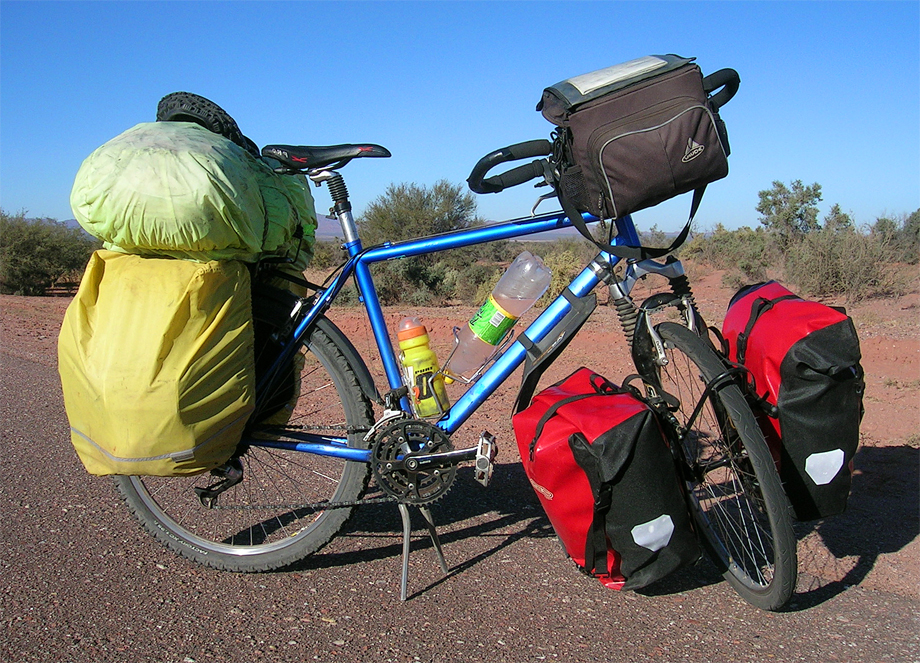 064  Kurt - Touring through Argentina - Velo Stern touring bike