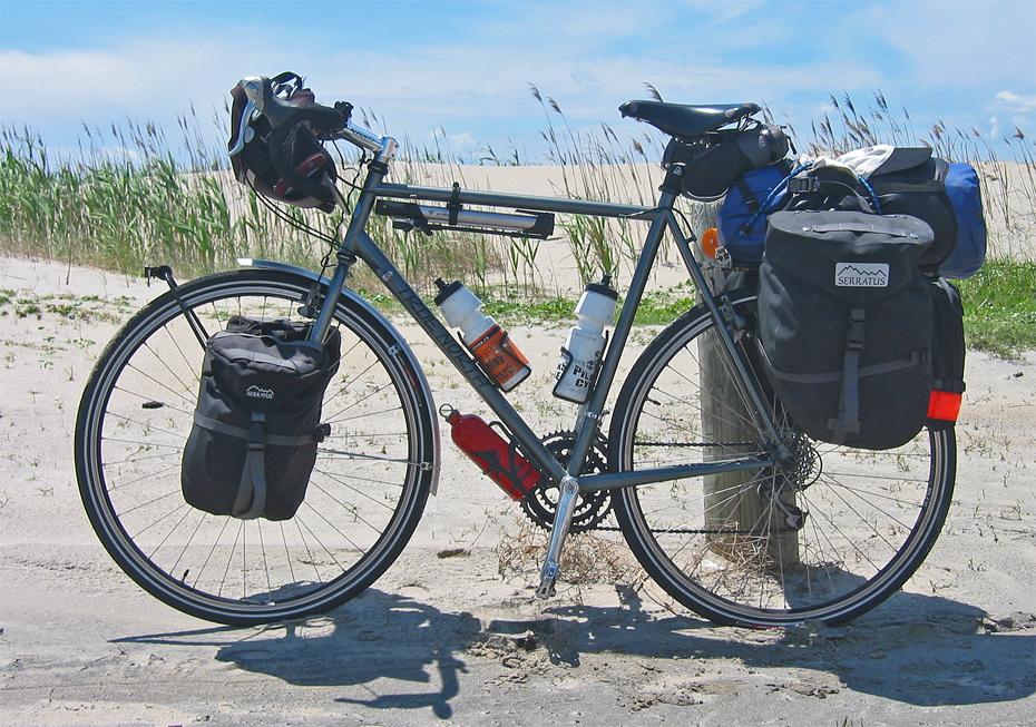 076  Phil - Touring through North Carolina USA - True North Touring touring bike