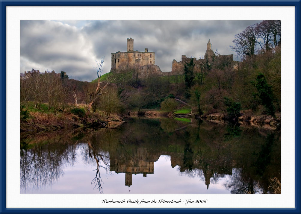 Warkworth from Riverbank  2