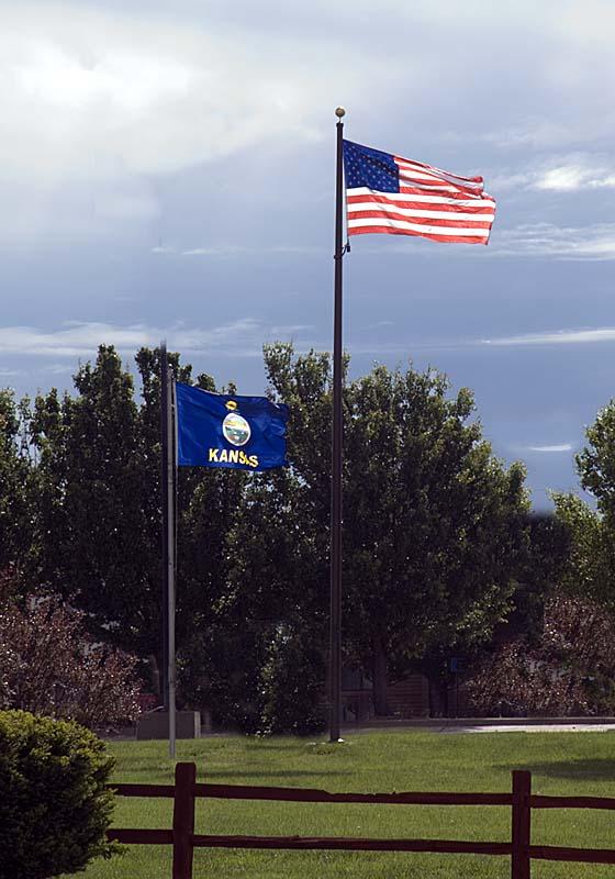 Kansas-USA Flags