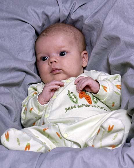 Rebecca 6 weeks old