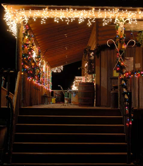 Christmas @  General Store, Peck, KS.