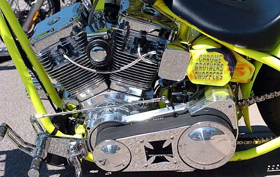Chrome Bros. Chopper