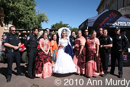 La Reina & Princesses with SF Police