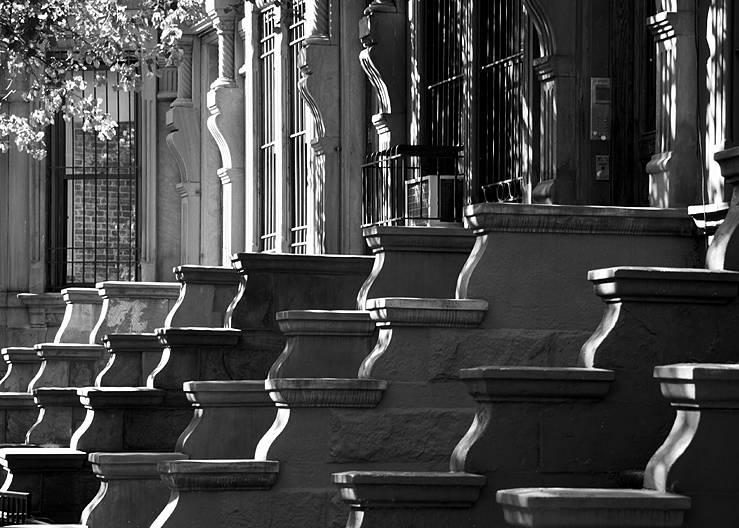 Brownstones on the Upper West Side