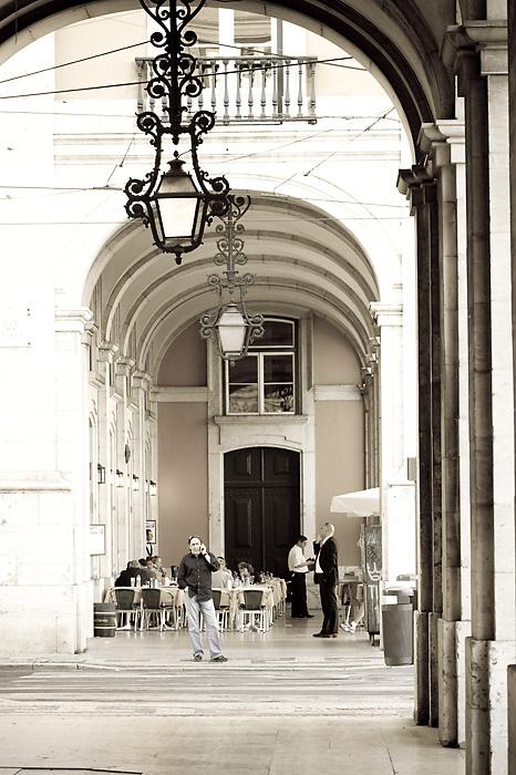 Phone call in Lisbon