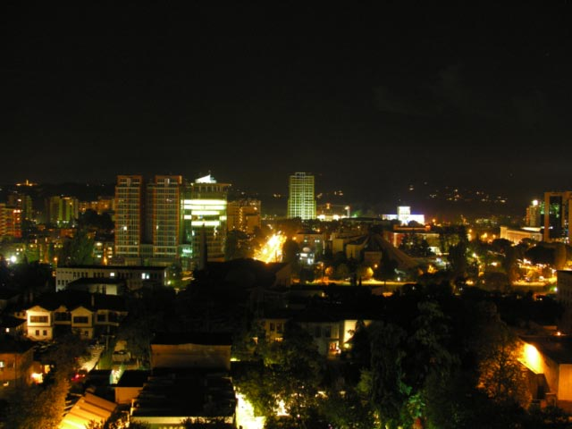 Tirana by night