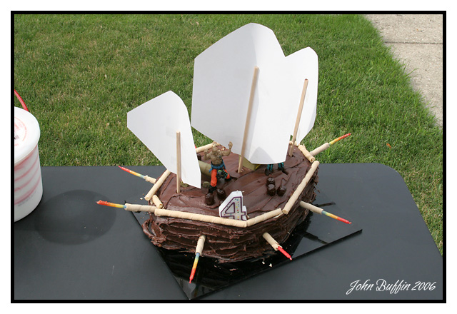 Pirate cake<br>6.25.06