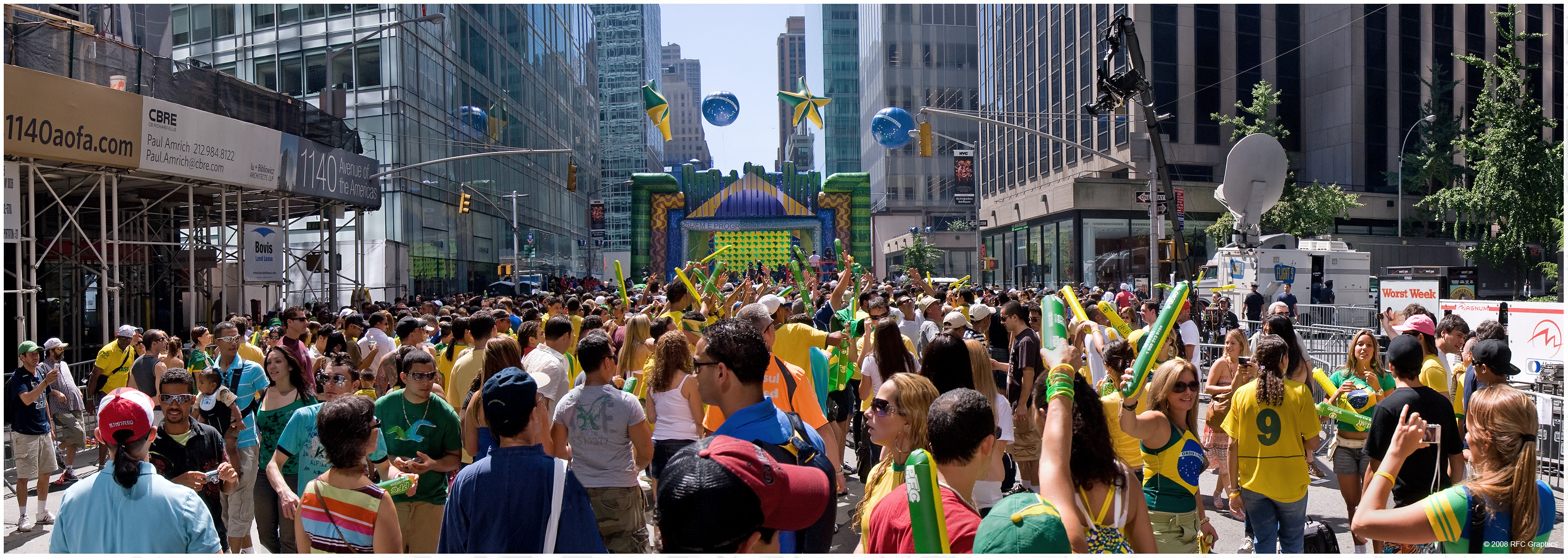 The 24th Annual Brazilian Day Festival Panorama