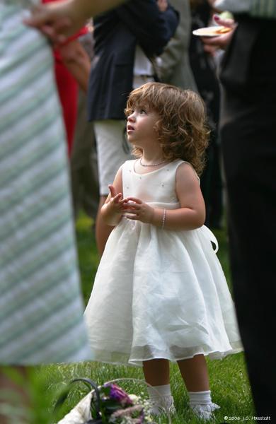 Wedding Reception Child