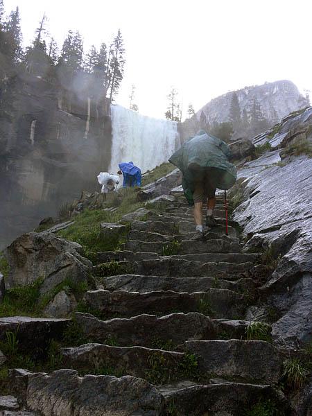 Steps to Vernal Fall