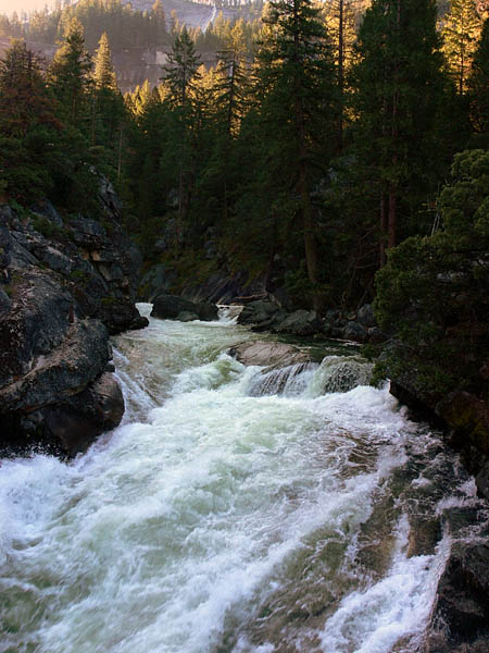 Merced River above Vernal Fall