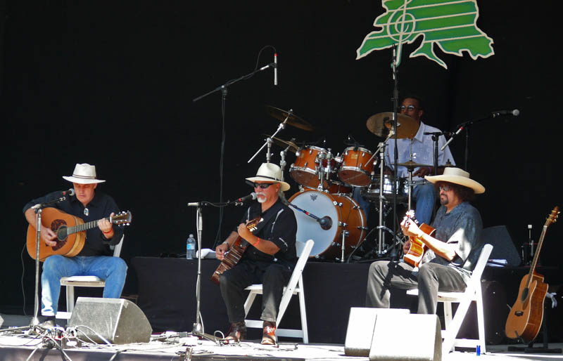 Louie Ortega and the Burners start Saturday main stage