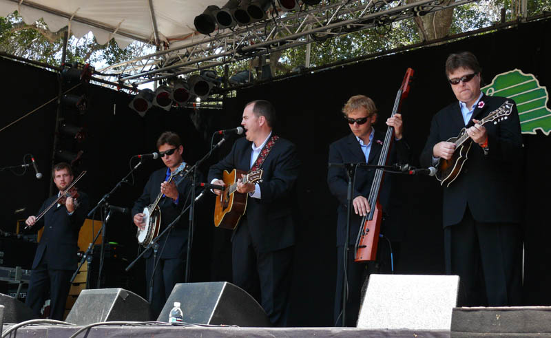 The Gibson Brothers at main stage