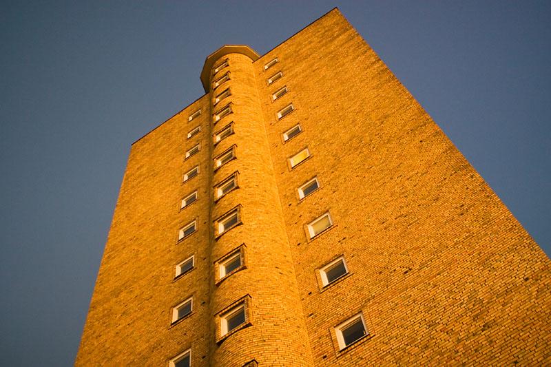 The brick tower