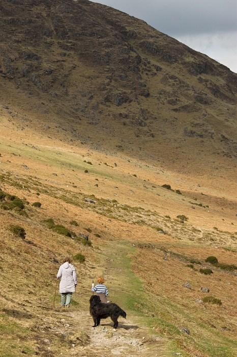 The path to Golyin Pass