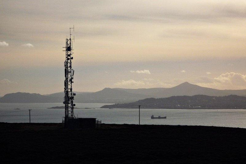 View from the Ben of Howth