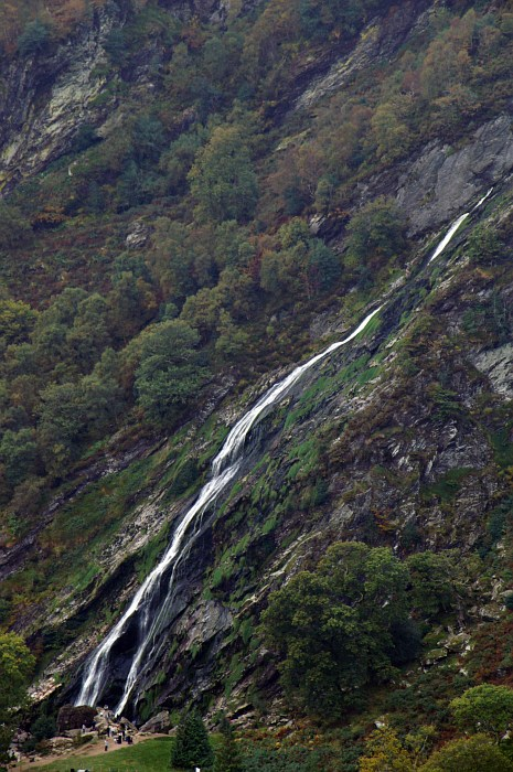 Powerscourt Waterfall, from the Wicklow Way