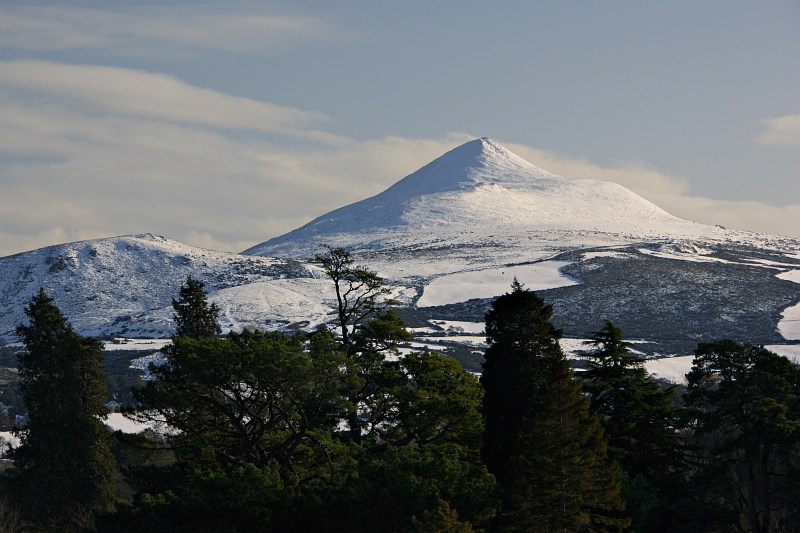 The Sugarloaf, from Powerscourt Gardens