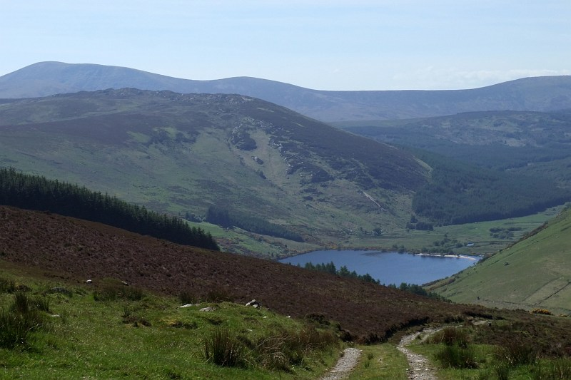 Towards Lough Dan