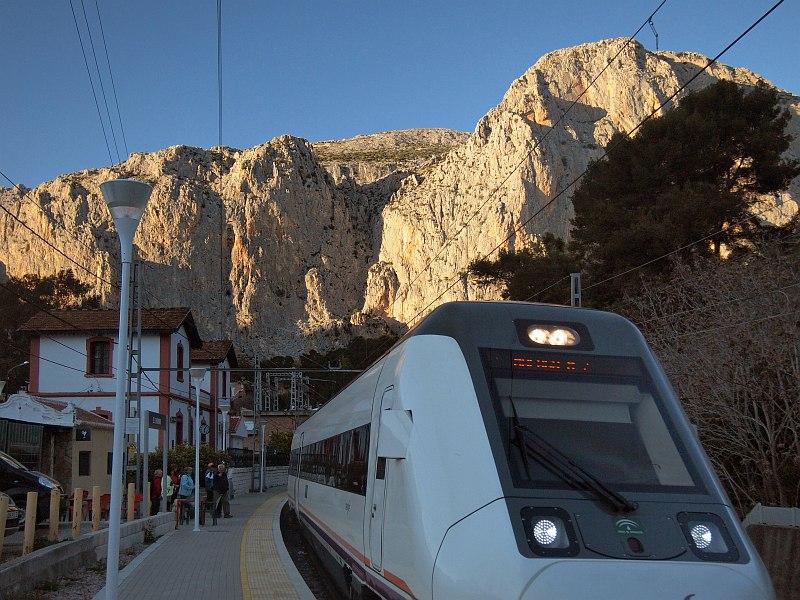 El Chorro train station