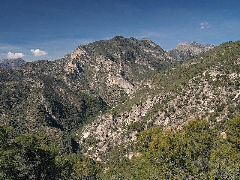 Cuesta del Iman, near Frigiliana