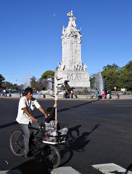 Monumento de los Españoles, Palermo