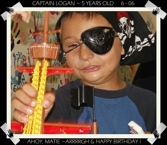 Capt Logan ... Arrrrgh!