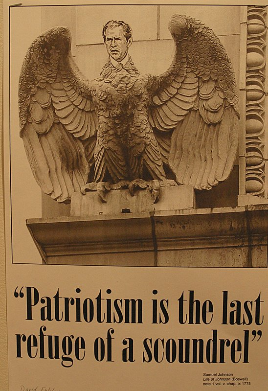 Patriotism: Last Refuge of a Scoundrel