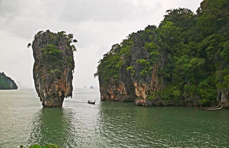 James Bond Island at Phang Nga Bay on a stormy day.jpg