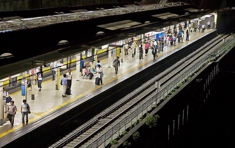 Tokyo subway station at night (Ochanomizu)