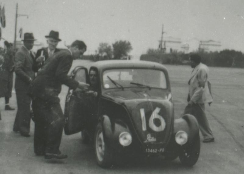 Munaretto - Santon -Mille Miglia 1939 - Fiat Topolino tipo A