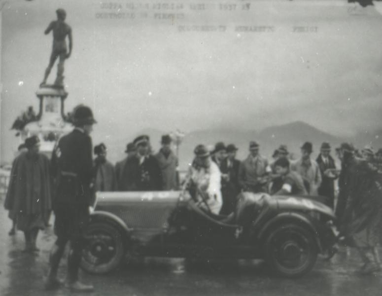 Munaretto-Fenici - Mille Miglia 1934 - Fiat Balilla Coppa DOro