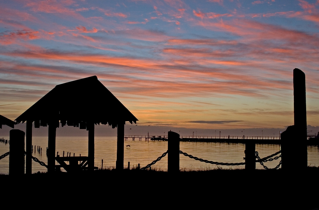 Cabana Sunrise, Table for Two:  Fulton Beach Road_Rockport