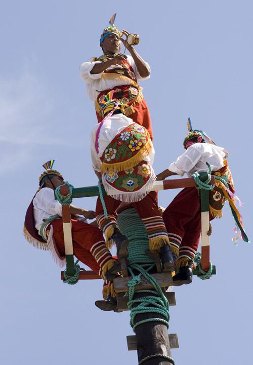 Papantla Flyers in Mazatlan