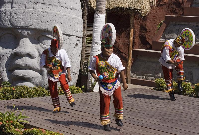Three Male Dancers