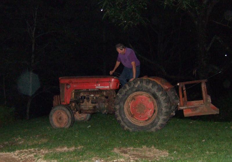 195 Cooler working in the dark!