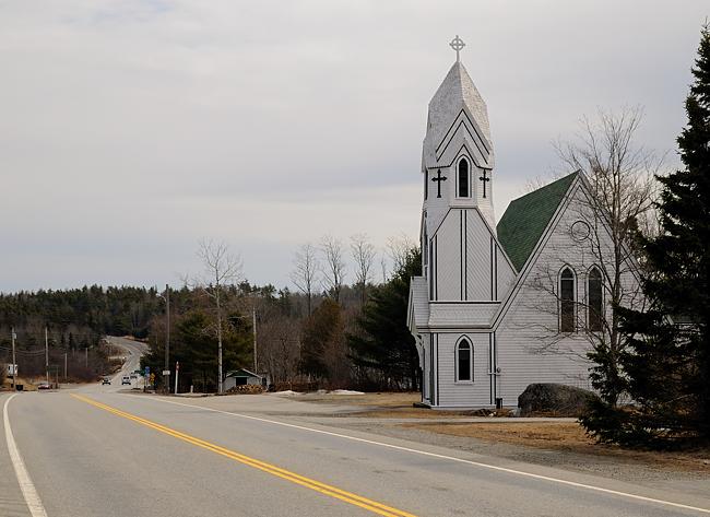 Holy Trinity Anglican Church, Jordan Falls, Nova Scotia