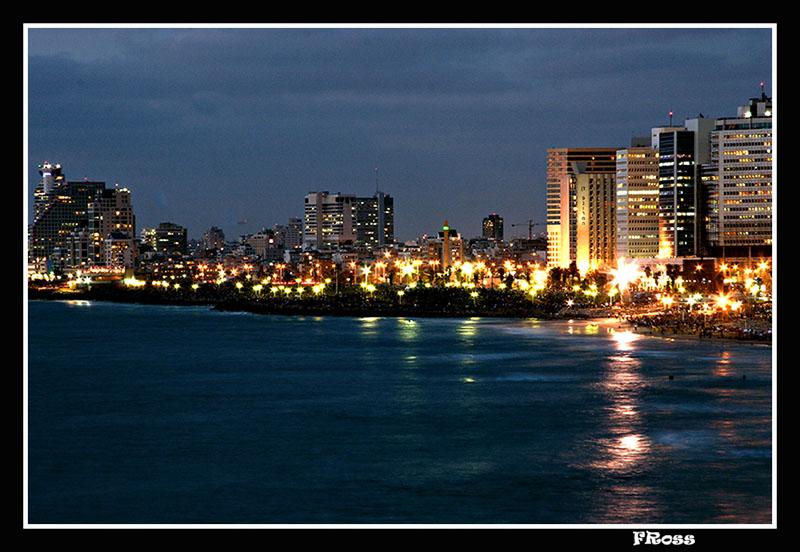 Tel Aviv with 250,000 people waiting