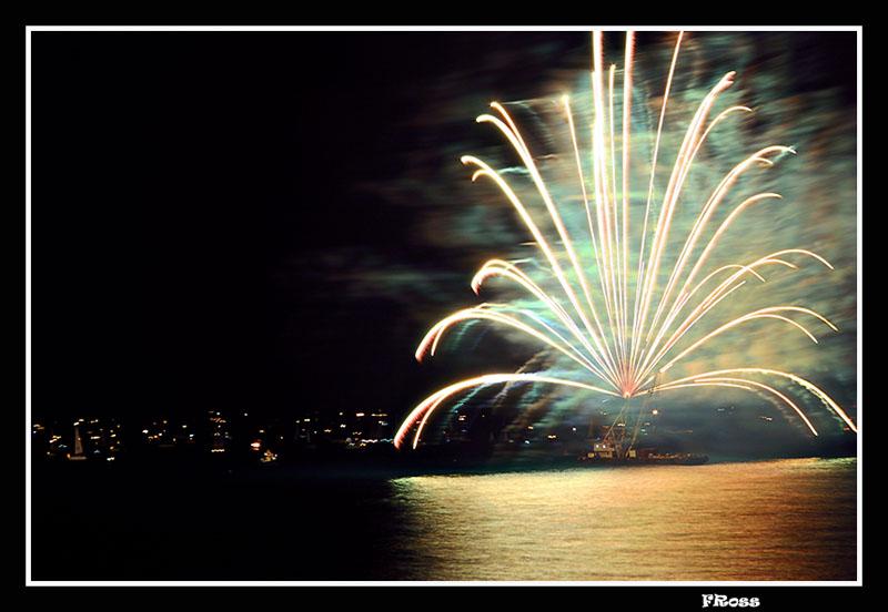 Tel Aviv Fireworks 7