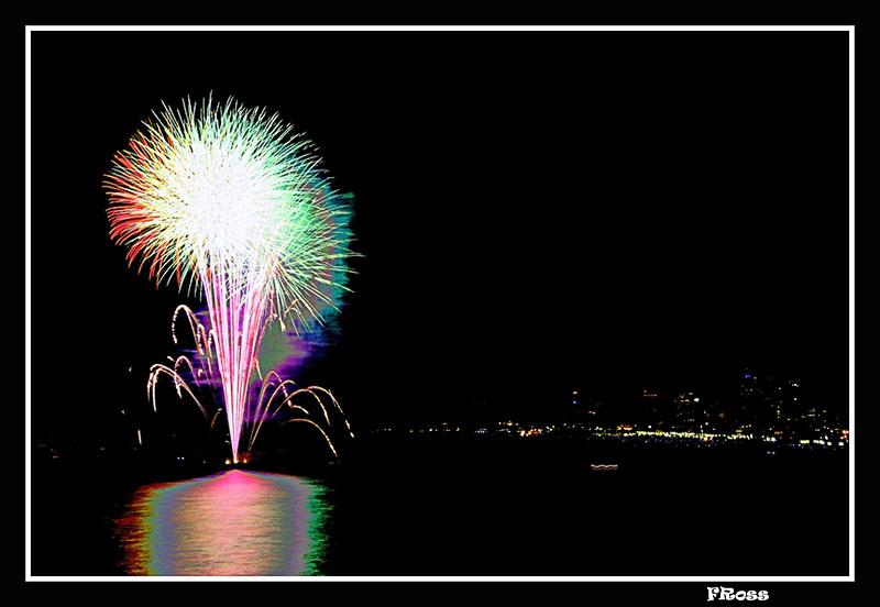 Tel Aviv Fireworks 5
