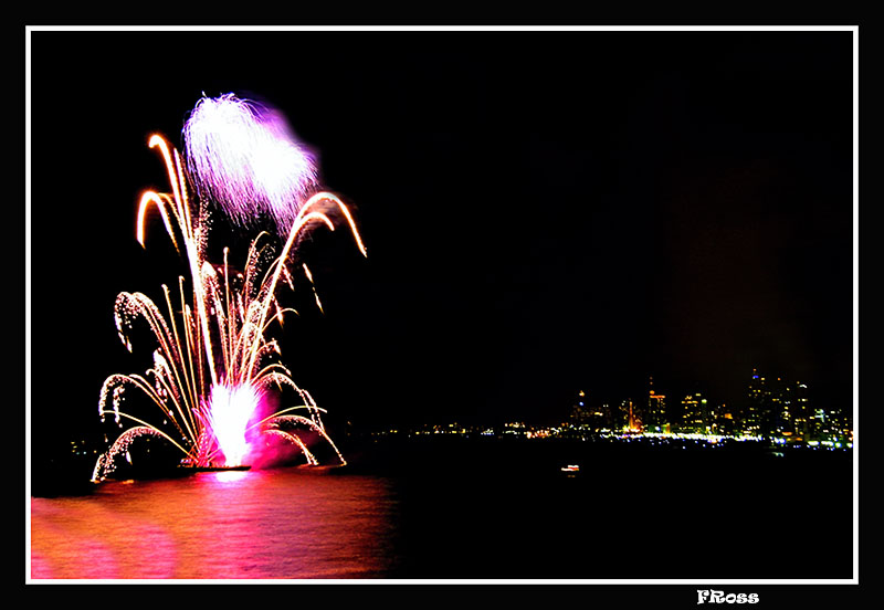 Tel Aviv Fireworks 8