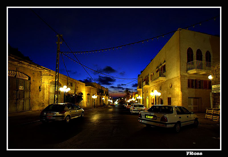 Old Jaffa at Sunset