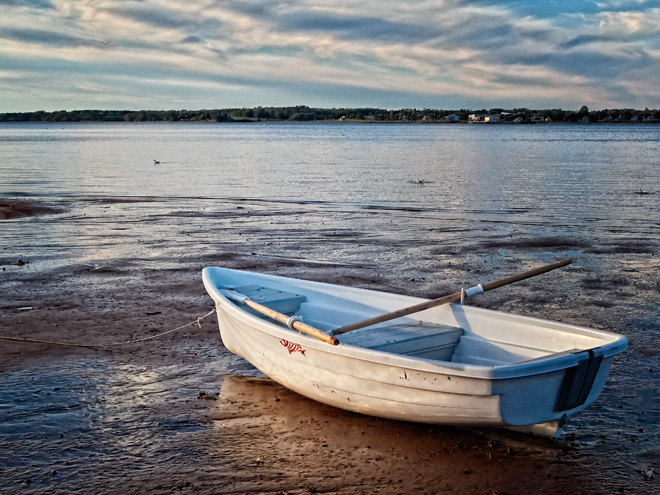 Lonely Dinghy