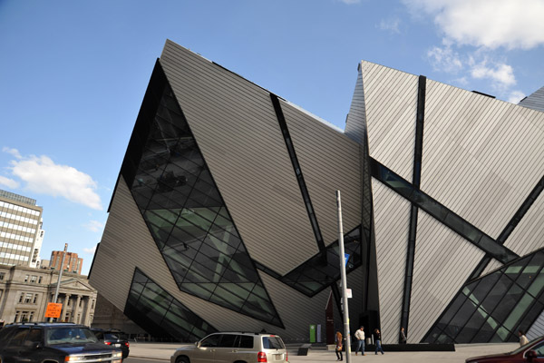 Michael Lee-Chin Crystal, the new wing of the Royal Ontario Museum
