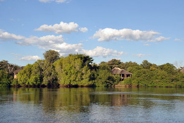 Kafue River at Puku Pan, Zambia