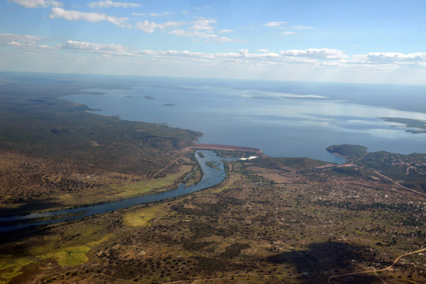 Lake Itezhi-tezhi, Itezhi-tezhi Dam and the Kafue River, Zambia